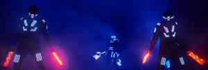 robot Led pour un show lumineux