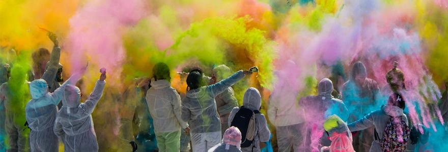 événement coloré